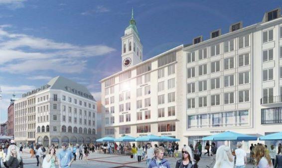 Geschichte vom Restaurant-Cafe am Marienplatz