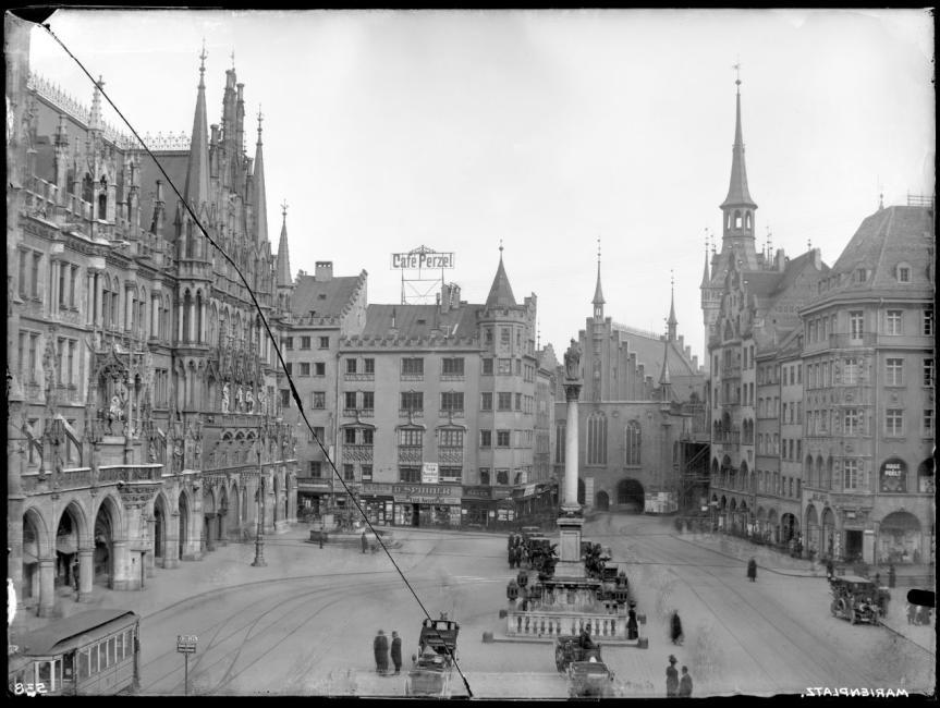 Marienplatz Ostseite 1910