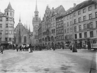 Marienplatz Südostseite 1904