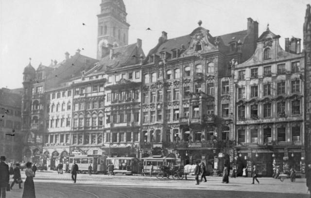Marienplatz Südseite 1905