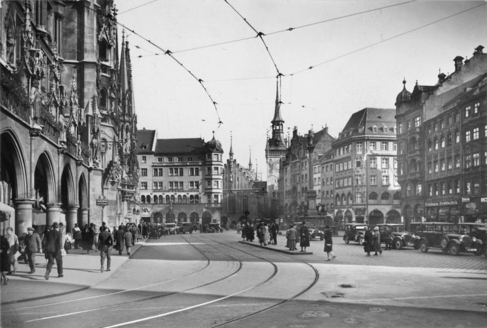 Marienplatz 1930