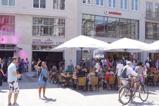 Frotalansicht Wildmosers Restaurant-Cafe am Marienplatz