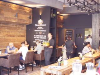 Interieur vom Restaurant-Cafe am Marienplatz